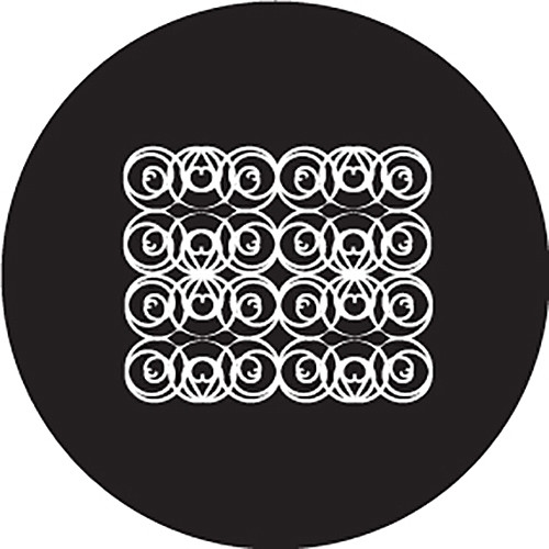 Rosco Scroll Crop Circle B/W Glass Gobo (Custom Size)
