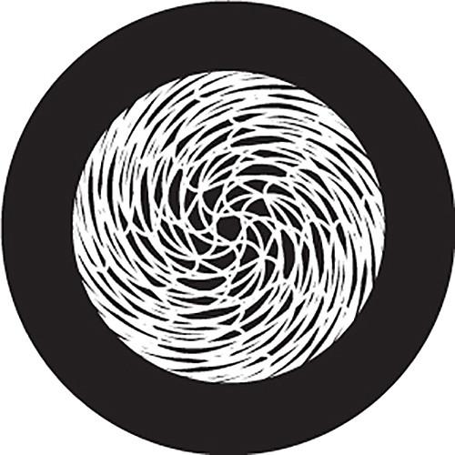 Rosco Yarn Ball Crop Circle B/W Glass Gobo (A Size)
