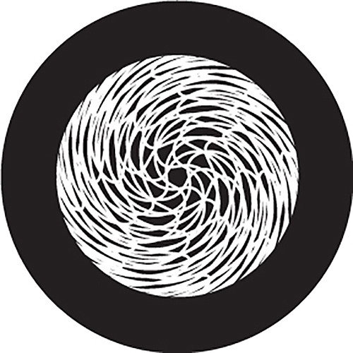 Rosco Yarn Ball Crop Circle B/W Glass Gobo (B Size)