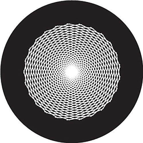 Rosco Sun Cosmos Crop Circle B/W Glass Gobo (Custom Size)