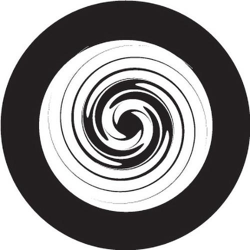 Rosco Endless Whirlpool Crop Circle Glass Gobo #82807 (Custom Size)