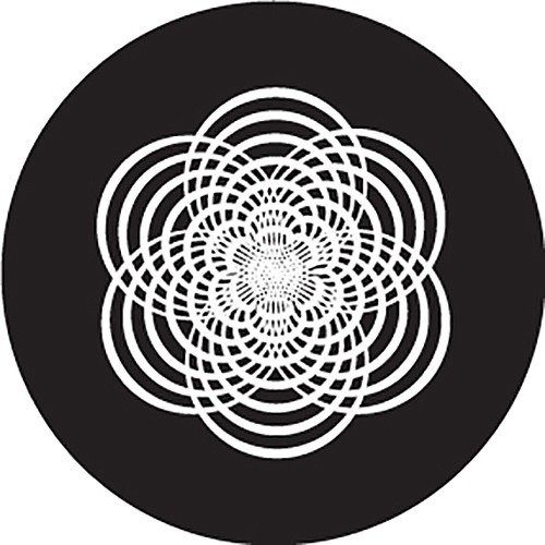 Rosco Rounded Star Crop Circle B/W Glass Gobo (A Size)