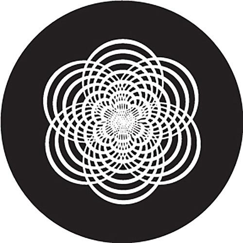 Rosco Rounded Star Crop Circle B/W Glass Gobo (Custom Size)