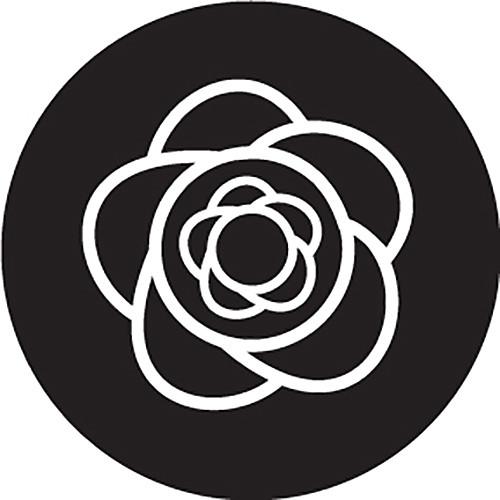 Rosco Lil Big Flower Crop Circle B/W Glass Gobo (Custom Size)