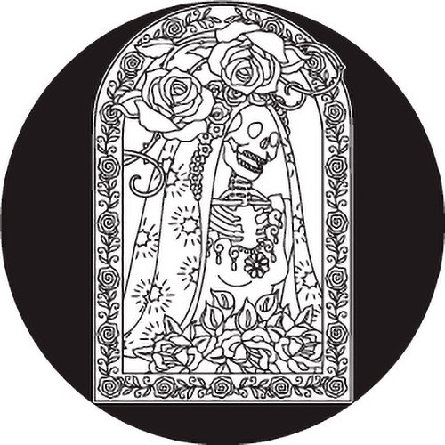Rosco Day of the Dead Glass Gobo #82822 Bride (Custom Size)