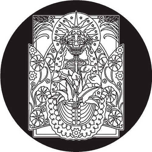 Rosco Day of the Dead Glass Gobo #82826 Sun (Size A)