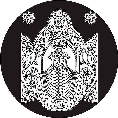Rosco Day of the Dead Glass Gobo #82827 Tribal Woman (Custom Size)