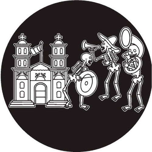Rosco Day of the Dead Glass Gobo #82828 Band (Custom Size)
