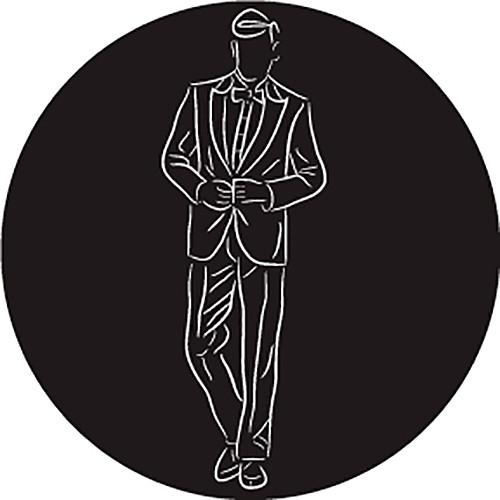 Rosco Groom in Suit B/W Wedding Glass Gobo (Custom Size)