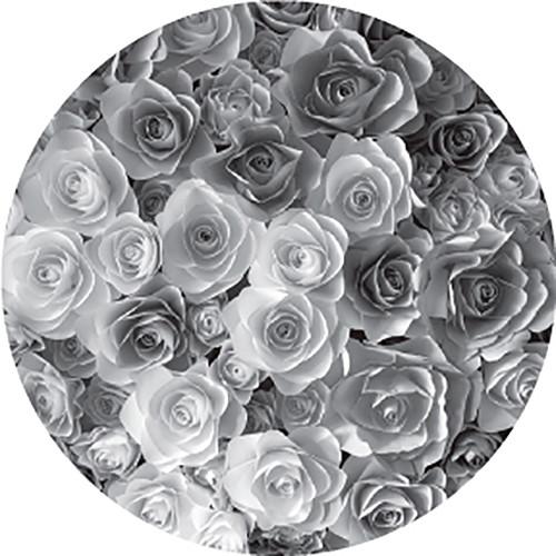 Rosco Rose Bouquet B/W Wedding Glass Gobo (Custom Size)