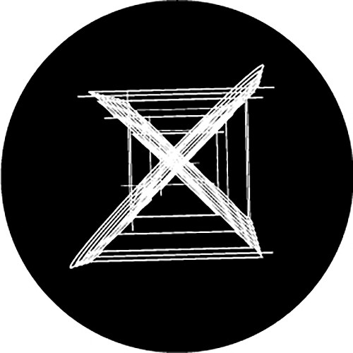 Rosco Xs Crossed B/W Breakup Glass Gobo (A Size)