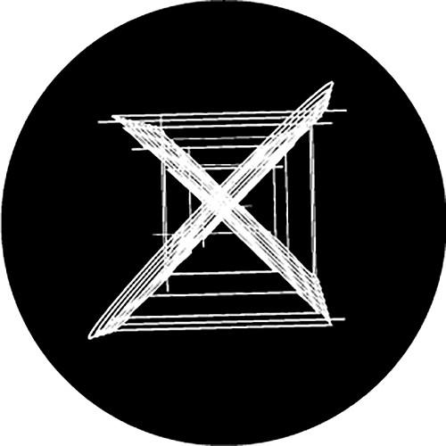 Rosco Xs Crossed B/W Breakup Glass Gobo (B Size)