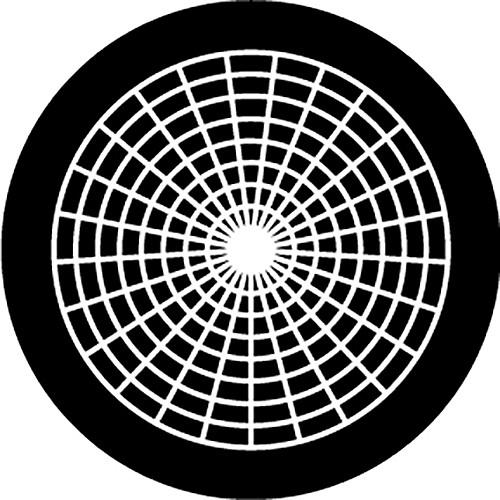 Rosco Radial 1 B/W Rotating Glass Gobo (A Size)