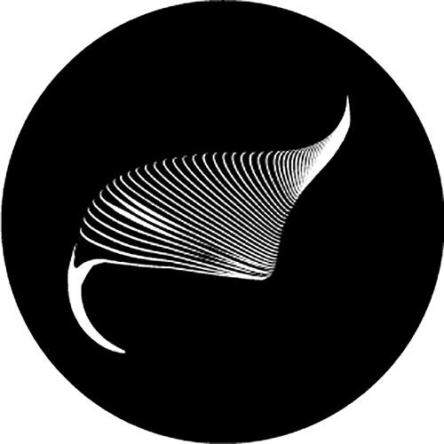 Rosco Waves B/W Breakup Glass Gobo (Custom Size)