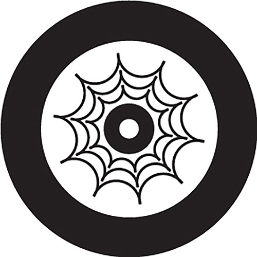 Rosco Spider Web Crop Circle B/W Rotating Glass Gobo (B Size)