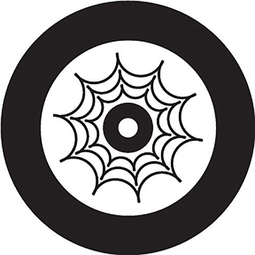 Rosco Spider Web Crop Circle B/W Rotating Glass Gobo (Custom Size)