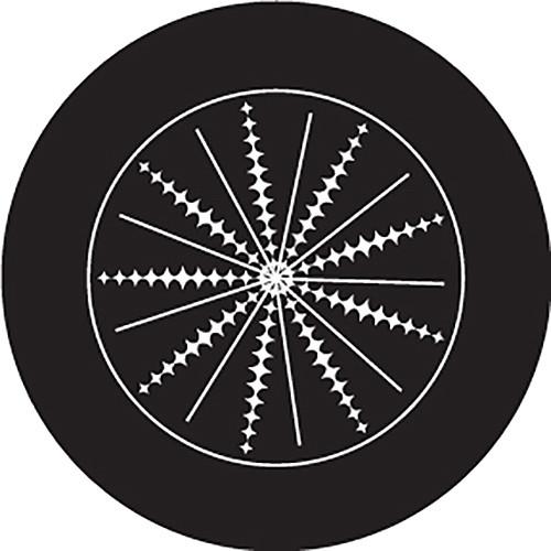 Rosco Spikes Crop Circle B/W Glass Gobo (Custom Size)
