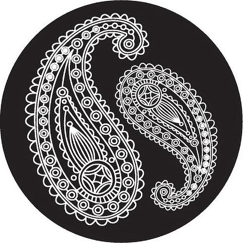 Rosco Paisley 7 B/W Breakup Glass Gobo (B Size)