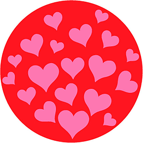 Rosco My Valentine 2-Color Breakup Glass Gobo (A Size)