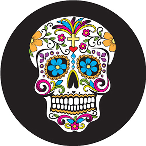 Rosco Day of the Dead Sugar Skull Color Glass Gobo (A Size)