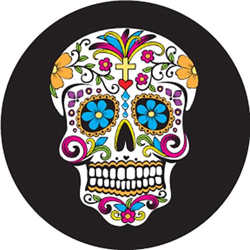 Rosco Day of the Dead Sugar Skull Color Glass Gobo (Custom Size)