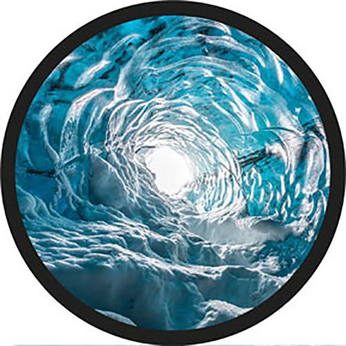 Rosco Ice Swirl Rotating Color Glass Gobo (Custom Size)