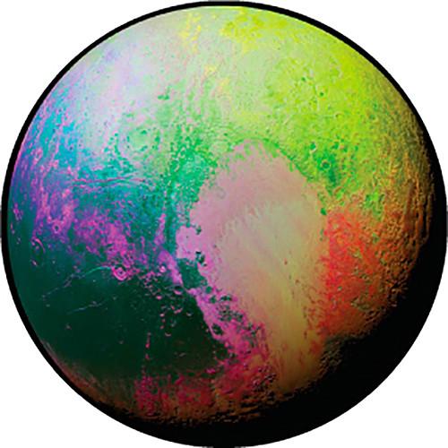 Rosco Psychedelic Pluto Color Breakup Glass Gobo (Custom Size)