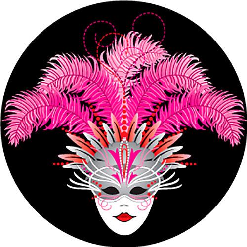 Rosco Carnival Mask Mardi Gras Color Glass Gobo (B Size)