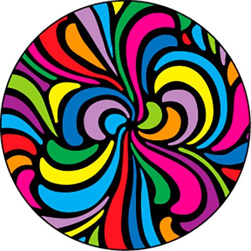 Rosco Swirls Color Breakup Glass Gobo (Custom Size)