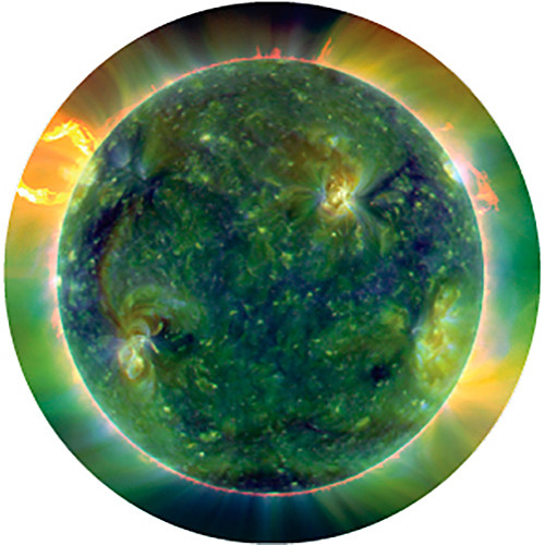 Rosco Cosmic Flares Color Breakup Glass Gobo (A Size)