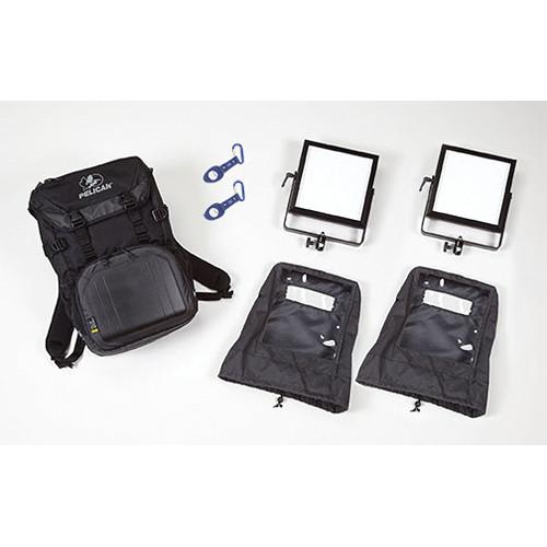 Rosco 2-Head LitePad Vector Daylight Backpack Kit