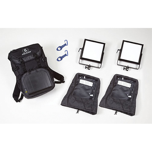Rosco 2-Head LitePad Vector CCT Backpack Kit