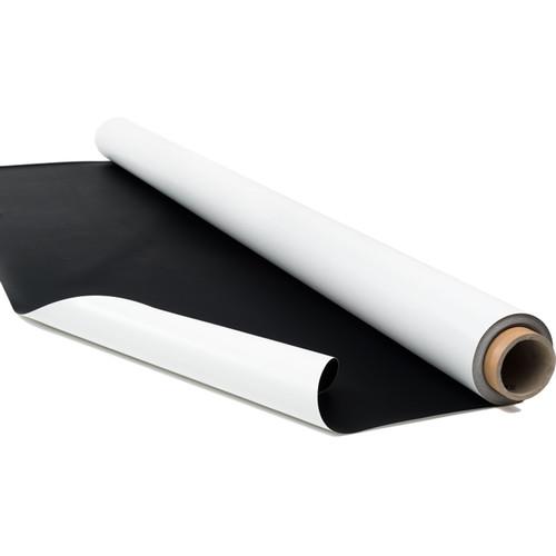 """Rosco Reversible Dance Floor (63"""" x 1', Black/White)"""