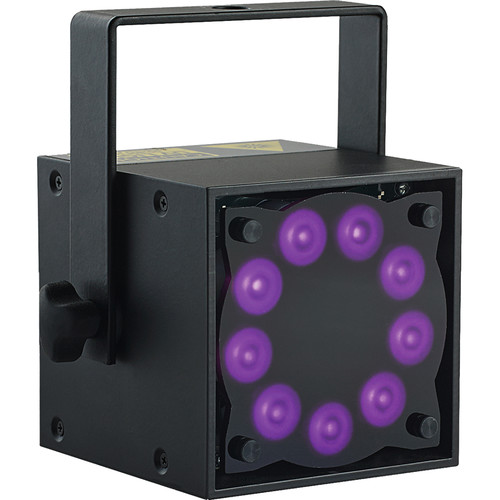 Rosco Miro Cube UV365 True UV LED Light (Black)