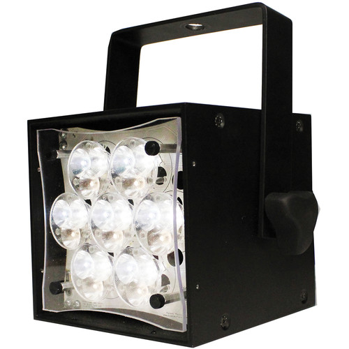 Rosco Braq Cube WNC LED Light with Power Cord (Black)