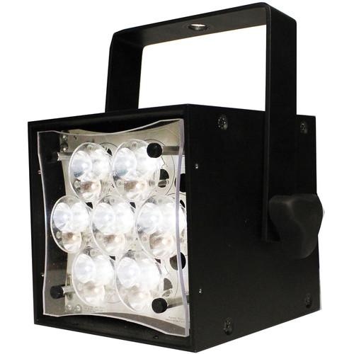 Rosco Braq Cube WNC LED Light with Power Cord (Black)