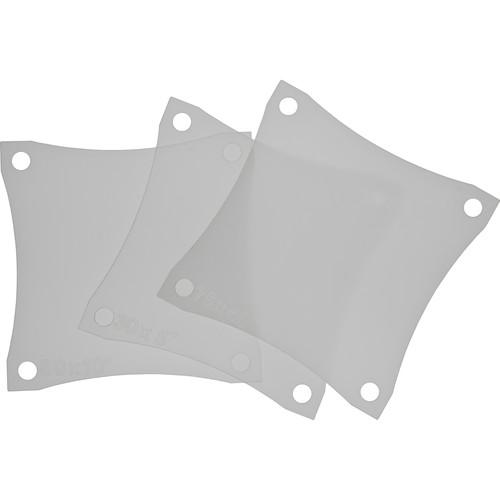 Rosco Asymmetrical Lens Set for Miro Cube LED Light (Set of 3)