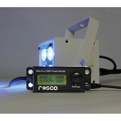 Rosco Preset Remote for Miro and Braq LED Lights