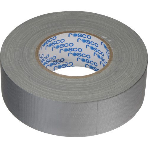 "Rosco GaffTac Gaffer Tape - Grey (2"" x 165')"