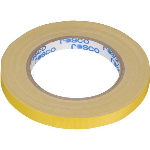 """Rosco GaffTac Spike Tape - Yellow (1/2"""" x 81')"""