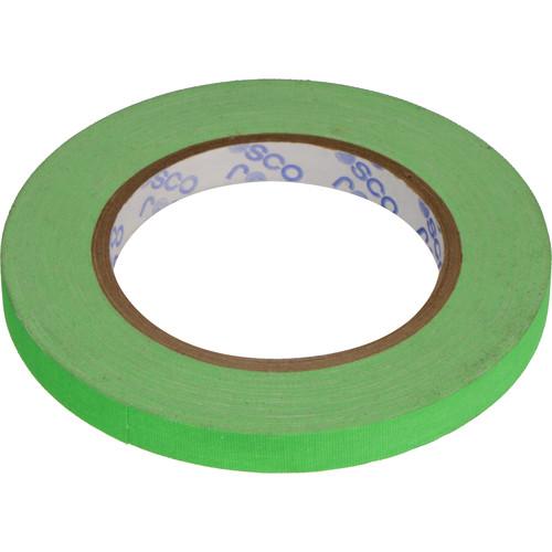 "Rosco GaffTac Spike Tape - Fluorescent Green (1/2"" x 81')"