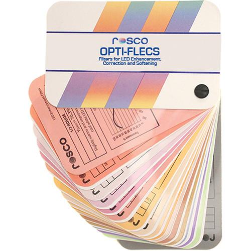 "Rosco OPTI-FLECS Swatch Book (3 x 5"")"