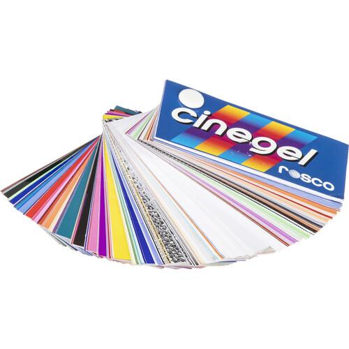 Rosco Cinegel Swatchbook with Gel Wallet Kit