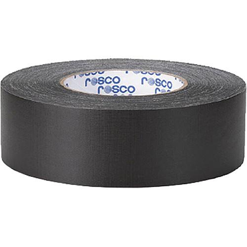 "Rosco GaffTac Gaffer Tape - Black (2"" x 54yd) - 3 Pack"