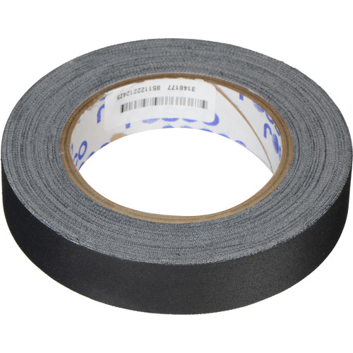 "Rosco GaffTac Marking Tape - Black (1"" x 27 yd) - 3 Pack"
