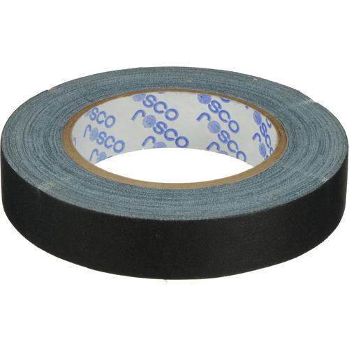 "Rosco GaffTac Marking Tape - Black (1"" x 27 yd) - 3 Pack"