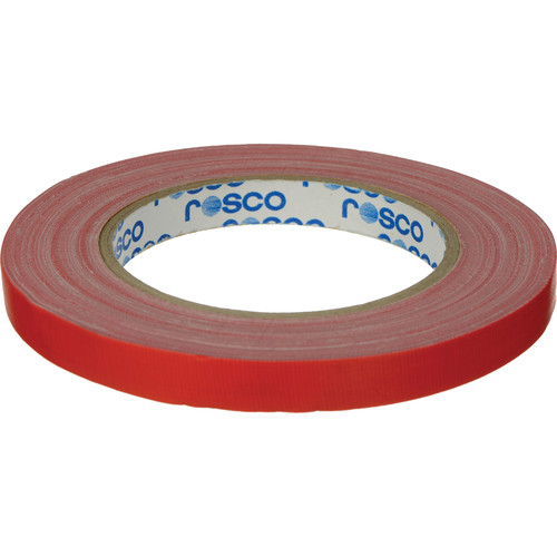 "Rosco GaffTac Spike Tape - Red (1/2"" x 27 yd) - 6 Pack"