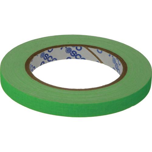 "Rosco GaffTac Spike Tape - Fluorescent Green (1/2"" x 27 yd) - 3 Pack"