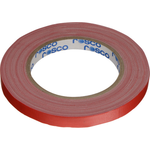 "Rosco GaffTac Spike Tape - Red (1/2"" x 27 yd) - 3 Pack"