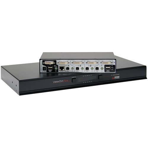 Rose Electronics Vista DVI Plus KVM Switch (1x4)